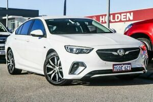 2018 Holden Commodore ZB MY18 RS Liftback White 9 Speed Sports Automatic Liftback Rockingham Rockingham Area Preview