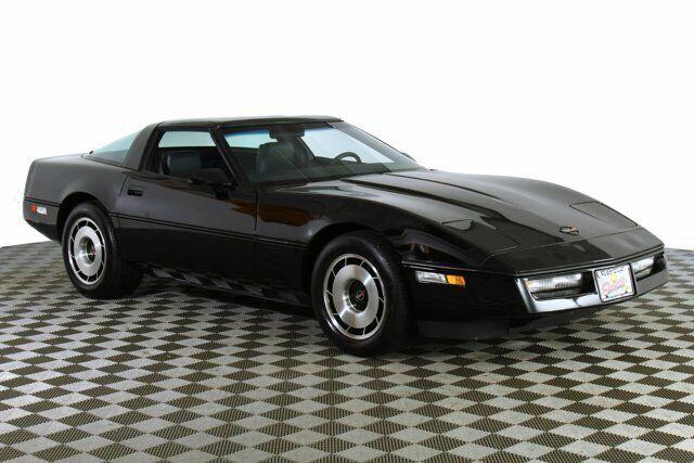 1984 Black Chevrolet Corvette   | C4 Corvette Photo 5