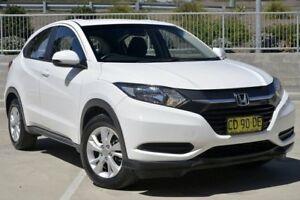 2015 Honda HR-V VTi White Continuous Variable Wagon Lisarow Gosford Area Preview