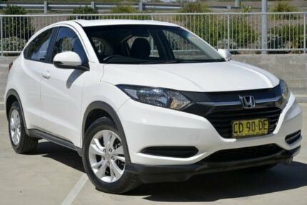 2015 Honda HR-V VTi White Continuous Variable Wagon Lisarow Gosford Area Preview
