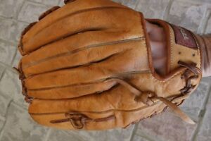Baseball leather Glove left Trex Top Grain Leather adults size 1