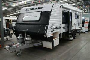 2013 Crusader Manhattan Caravan Caravan Kilburn Port Adelaide Area Preview