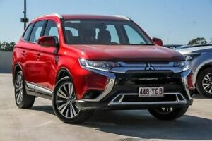 2018 Mitsubishi Outlander ZL MY19 ES AWD Red 6 Speed Constant Variable Wagon Aspley Brisbane North East Preview