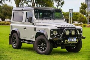 2016 Land Rover Defender 90 MY16 AWD Silver 6 Speed Manual Wagon