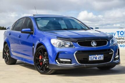 2016 Holden Commodore VF II MY16 SS V Redline Blue 6 Speed Sports Automatic Sedan Osborne Park Stirling Area Preview