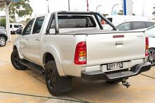 2011 Toyota Hilux KUN26R MY12 SR5 Double Cab Silver 4 Speed Automatic Utility Greenacre Bankstown Area Preview