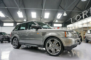 2008 Land Rover Range Rover MY08 Sport 3.6 TDV8 Stornoway Grey 6 Speed Sequential Auto Wagon Port Melbourne Port Phillip Preview