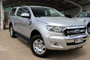 2017 Ford Ranger PX MkII XLT Double Cab Ingot Silver 6 Speed Sports Automatic Utility Mount Gravatt Brisbane South East Preview