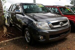 2008 Toyota Hilux GGN15R MY09 SR Grey 5 Speed Automatic Utility Minchinbury Blacktown Area Preview