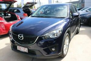 2013 Mazda CX-5 KE1021 MY13 Akera SKYACTIV-Drive AWD Stormy Blue 6 Speed Sports Automatic Wagon Mount Gravatt Brisbane South East Preview