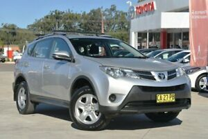 2014 Toyota RAV4 ZSA42R MY14 Upgrade GX (2WD) Silver Pearl Continuous Variable Wagon Wyoming Gosford Area Preview