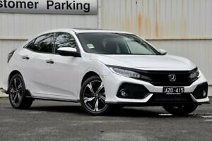 2019 Honda Civic 10th Gen MY19 RS White 1 Speed Constant Variable Hatchback Ferntree Gully Knox Area Preview