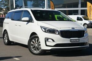 2019 Kia Carnival YP MY19 SI Clear White 8 Speed Sports Automatic Wagon Wyoming Gosford Area Preview
