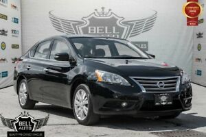 2015 Nissan Sentra SL NAVIGATION SUNROOF LEATHER BACK-UP CAMERA