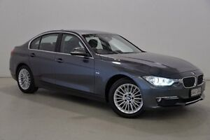 2012 BMW 320D F30 Grey 8 Speed Sports Automatic Sedan Mansfield Brisbane South East Preview