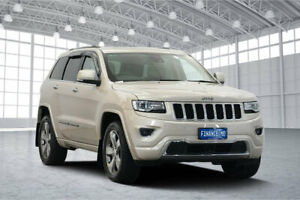 2016 Jeep Grand Cherokee WK MY15 Overland Cashmere Pearl 8 Speed Sports Automatic Wagon Victoria Park Victoria Park Area Preview