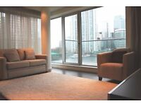 Outstanding 2 Bed 2 Bath Apartment in Baltimore Wharf, Parking, Gym, Concierge, Balcony- VZ