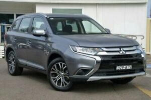 2018 Mitsubishi Outlander ZL MY18.5 ES AWD ADAS Grey 6 Speed Constant Variable Wagon