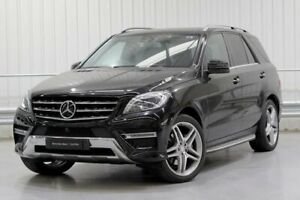2015 Mercedes-Benz M-Class W166 ML350 BlueTEC Black Sports Automatic Parramatta Parramatta Area Preview