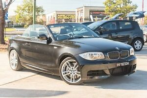 2012 BMW 135I E88 LCI MY0312 M Sport D-CT Black 7 Speed Sports Automatic Dual Clutch Convertible Penrith Penrith Area Preview