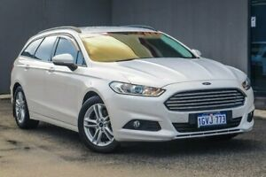 2016 Ford Mondeo MD Ambiente PwrShift White 6 Speed Sports Automatic Dual Clutch Wagon