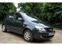 Hyundai Getz 1.4, FSH, low mileage, excelent condition