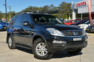 2015 Ssangyong Rexton Y285 II MY14 SX Black 5 Speed Sports Automatic Wagon Gosford Gosford Area Preview