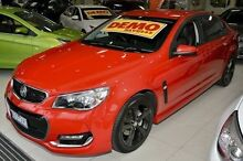 2015 Holden Commodore VF MY15 SV6 Red 6 Speed Sports Automatic Sedan Ferntree Gully Knox Area Preview