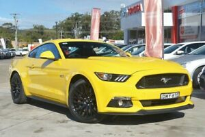 2016 Ford Mustang FM MY17 Fastback GT 5.0 V8 Yellow 6 Speed Automatic Coupe Wyoming Gosford Area Preview