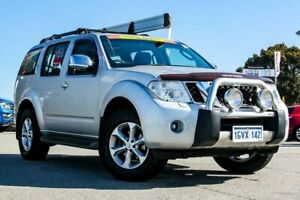 2013 Nissan Pathfinder R51 MY10 TI Silver 5 Speed Sports Automatic Wagon Cannington Canning Area Preview