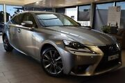 2013 Lexus IS300H AVE30R Luxury Hybrid Grey Continuous Variable Sedan Belconnen Belconnen Area Preview