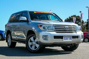 2012 Toyota Landcruiser VDJ200R MY12 Sahara Silver 6 Speed Sports Automatic Wagon Cannington Canning Area Preview