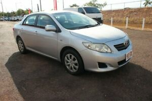 2009 Toyota Corolla ZRE152R Ascent Silver Pearl 6 Speed Manual Sedan The Gardens Darwin City Preview