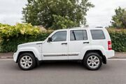 2012 Jeep Cherokee KK MY12 Limited White 5 Speed Sports Automatic Wagon Hove Holdfast Bay Preview