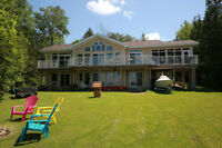 Fantastic Lake front Cottage - five years old