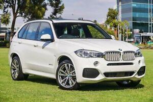 2018 BMW X5 F15 xDrive40e iPerformance Alpine White 8 Speed Sports Automatic Wagon Hybrid