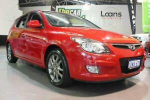 2012 Hyundai i30 FD MY12 Trophy Red 4 Speed Automatic Hatchback Victoria Park Victoria Park Area Preview