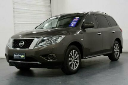 2016 Nissan Pathfinder R52 MY15 ST (4x2) Grey Continuous Variable Wagon Moorabbin Kingston Area Preview