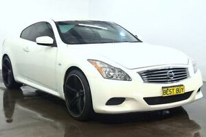 2008 Nissan Skyline CKV36 370GT White Sports Automatic Coupe Cabramatta Fairfield Area Preview