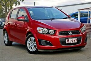 2012 Holden Barina TM Red 6 Speed Automatic Hatchback Capalaba Brisbane South East Preview
