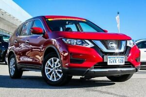 2018 Nissan X-Trail T32 Series II ST X-tronic 4WD Red 7 Speed Constant Variable Wagon