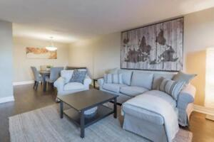 One bedroom apartment for sublet, 10 min drive to Ottawa downtow