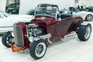 1928 Ford Model A STREET ROD Burgundy Automatic Convertible Carss Park Kogarah Area Preview