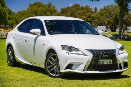 2016 Lexus IS350 GSE31R F Sport White 8 Speed Sports Automatic Sedan