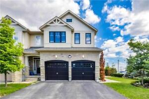 Home For Sale In Caledon! End-Unit 2 Car Garage Town!