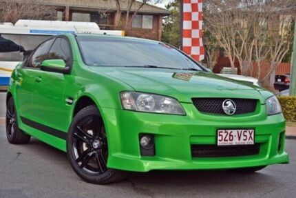 2009 Holden Commodore VE MY09.5 SV6 Green 5 Speed Auto Seq Sportshift Sedan Taringa Brisbane South West Preview