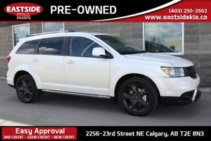 2018 Dodge Journey CROSSROAD DVD LEATHER TRIM 7 PASSENGER CAMERA