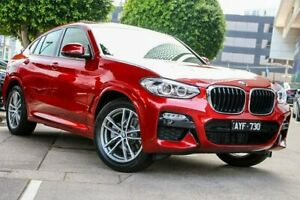 2018 BMW X4 G02 xDrive20i M Sport Red Automatic South Melbourne Port Phillip Preview