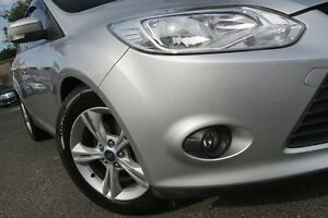2013 Ford Focus LW MK2 Trend Silver 6 Speed Automatic Hatchback Zetland Inner Sydney Preview