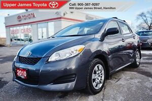 2010 Toyota Matrix Incredbile service history at Upper James Toy